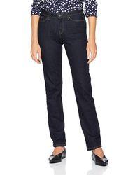 Esprit 998ee1b812, Jeans Straight Donna, Blu (Blue Rinse 900), W25/L32