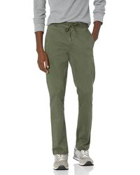 Goodthreads Skinny-fit Washed Chino Drawstring - Green