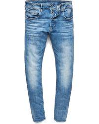 G-Star RAW G-Star Jeans 3301 OT Slim Light Aged W33/L32 - Blu