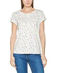 c7bae3dd22e428 Esprit Kadoz Women s T Shirt In White in White - Lyst