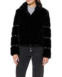 Guess Sira Jacket Manteau - Noir