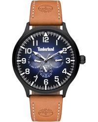 Timberland Reloj Multiesfera para Hombre de Cuarzo con Correa en Cuero TBL15270JSB.03 - Negro
