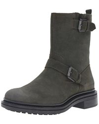 CALVIN KLEIN 205W39NYC - Ck Jeans Kris Oiled Suede Motorcycle Boot - Lyst