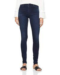 Levi's Mile High Super Skinny Jean Femme - Bleu