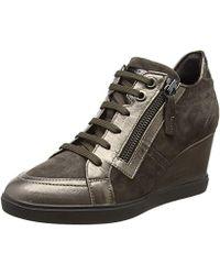 0c7ddd4c Zapatos de salón con cuña Geox de mujer desde 47 € - Lyst
