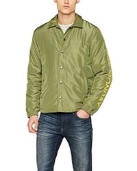 8af0a6d12 Core Jacket Cut Logo Bomber - Green