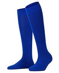 Falke Softmerino Socks - Blue