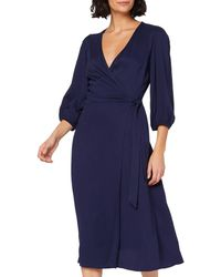 Meraki Kd268 A1 D1 Casual Dresses - Blue
