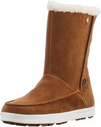 Jack Wolfskin Auckland Wt Texapore Boot H W Snow - Brown