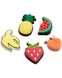 Crocs™ 's Shiny 5 Pack Shoe Decoration Charms - Green