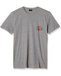 DIESEL Umlt-Diego S T-Shirt - Nero