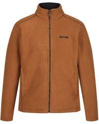 Regatta S Garrian Polyester Sherpa Backed Full Zip Fleece Jacket - Brown