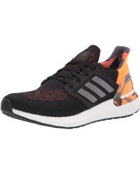adidas - Mens Ultraboost 20,black/grey/signal Orange,12 M Us - Lyst