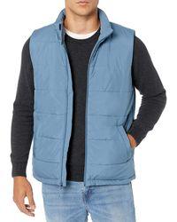 Amazon Essentials Mid-weight Puffer Vest - Blue