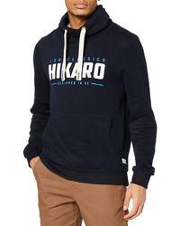 HIKARO Sudadera Hombre - Azul
