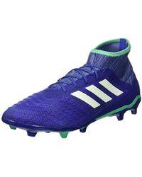 fe5953d6cc2fe Predator 18.2 Fg Footbal Shoes - Blue