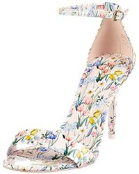 cfe7a094ed7 ALDO  s Cally Open Toe Sandals in Pink - Lyst