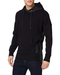 Superdry Surplus Goods Panel Hood Sweat-Shirt À Capuche - Noir