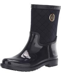 Tommy Hilfiger Splash Rain Boot - Blue