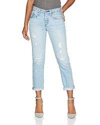Levi's 501 Tapered Amazon Exclusive Jeans Boyfriend Donna - Blu