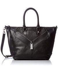 "DIESEL - S""le-zipper"" Le-ninna - Handbag Top-handle Bag Black (black) - Lyst"