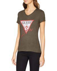 Guess SS VN Icon Tee T-Shirt - Vert