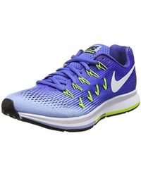 good out x great prices reputable site Nike Air Zoom Pegasus 33 Running Shoes in Pink - Lyst