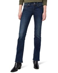 G-Star RAW Midge Saddle Mid Waist Bootcut Jeans - Azul