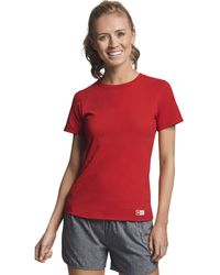 Russell Athletic Xx-large Cotton Performance T-shirts - Red