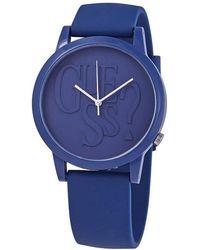 Guess Originals Quartz Blue Dial Ladies Watch V1019M4 - Blau