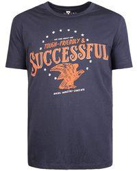 DIESEL T-shirt T-successful 81st Blue
