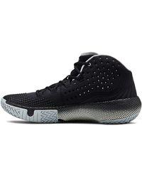 Under Armour Hovr Havoc 2 Basketball Shoe, Black (002)/white, 16