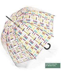 Benetton Transparent Square Lines - Mehrfarbig