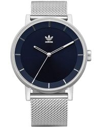 adidas S Analogue Quartz Watch With Stainless Steel Strap Z04-2928-00 - Multicolour