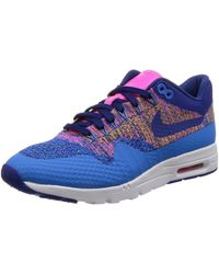 Nike Air Max 1 Ultra Flyknit Trainers - Blue