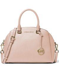 Michael Kors Maxine Medium Dome Satchel - Pink