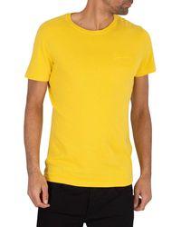 Superdry - T-Shirt Jaune Premium Goods - Lyst