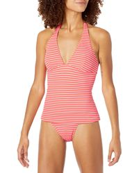 Amazon Essentials Tankini Swimsuit Top - Pink