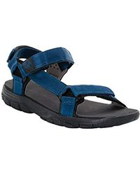 Jack Wolfskin Seven Seas 2 Sandal M Sports - Blue