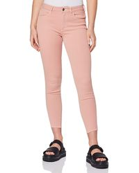 Wrangler Skinny Crop Trouser - Pink