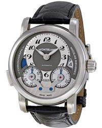 Montblanc 102337 Nicolas Rieussec Chronograph Watch - Black