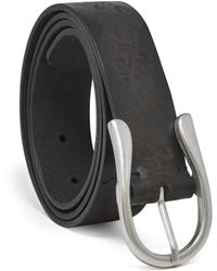 Timberland Casual Leather Belt - Black
