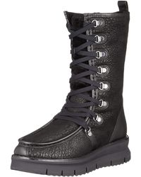 Geox D Porthya E High Boots, - Black