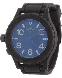 Nixon Analog Quarz Uhr mit Edelstahl beschichtet Armband A346001-00 - Schwarz