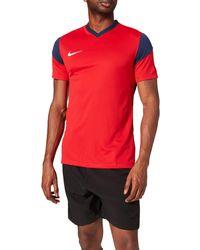 Nike Park Derby Iii Short Sleeve Jersey - Red
