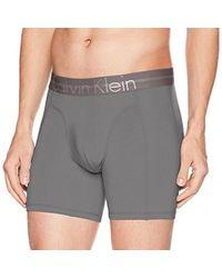 9bb6f6f41a4 Lyst - Calvin Klein Underwear Focused Fit Boxer Briefs in Blue for Men