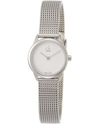 Calvin Klein Reloj - Mujer K6R23126 - Gris