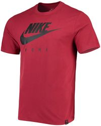 Nike Roma M Nk Dry Tee Tr Ground Cl T-shirt - Red