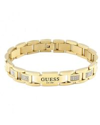 Guess Golden Hero Bracelet Umb79005 - Metallic