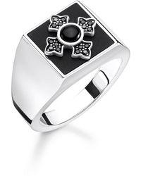 Thomas Sabo Ringe 925_Sterling_Silber mit '- Ringgröße 56 TR2209-641-11-56 - Mehrfarbig